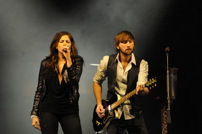 Lady Antebellum -- seen here playing the Fillmore Auditorium in November 2010 -- will return to Denver in February for a much larger headlining show. Photos by John DiTirro, heyreverb.com.