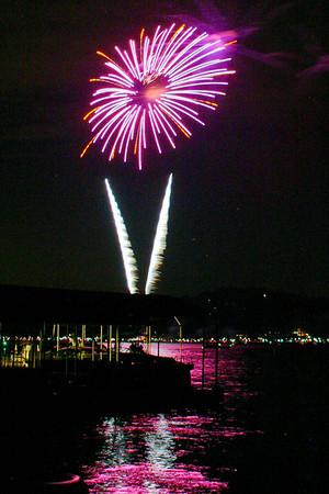 Lake Arrowhead Fireworks