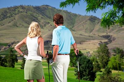 Chelan Golfing