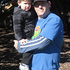 Noah and Simon at Milton Park.