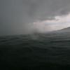 But halfway across the lake .....