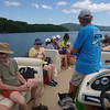 Along the way, Brooks talks about Lake Jocassee's history and ecology.