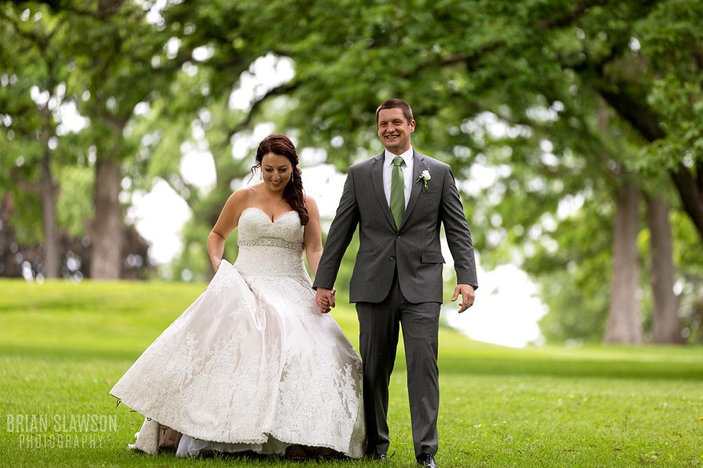 Lake Lawn Wedding;