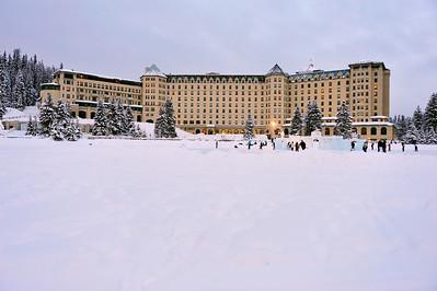 Chateau Lake Louise, December 2009
