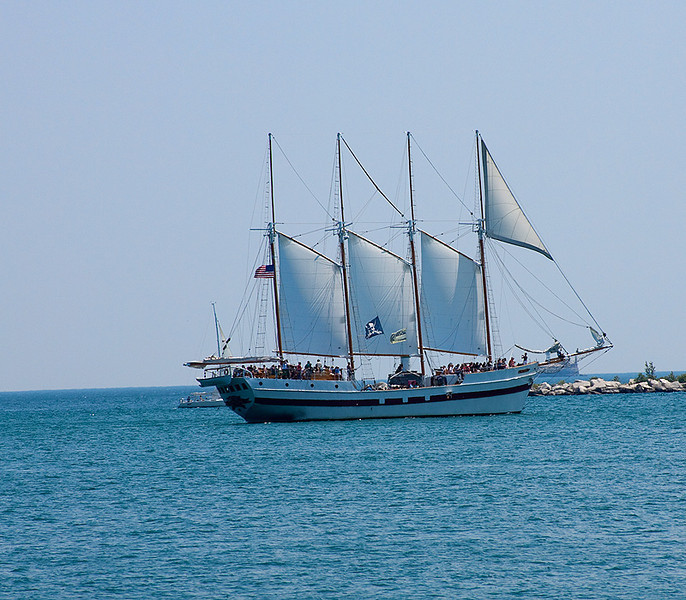 Navy Pier Tall Ships<br /> The Schooner Windy