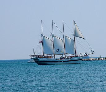 Lake Michigan Navy Pier