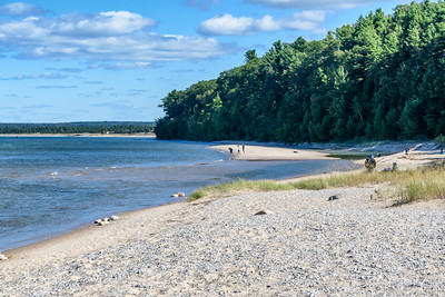 Platte River Beach, Sleeping Bear Dunes National Lakeshore
