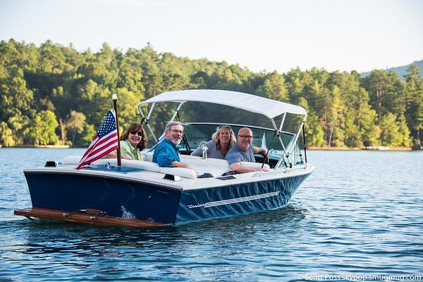 Lake Rabun Boat Ride 082916