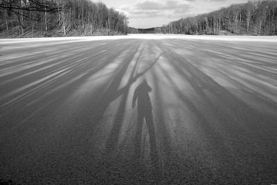 Self-portrait. Little Lake Seneca, Germantown, MD
