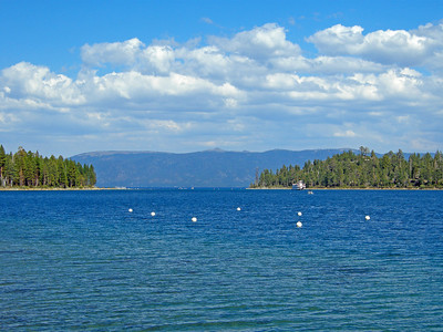 Entrance to Emerald Bay in Lake Tahoe