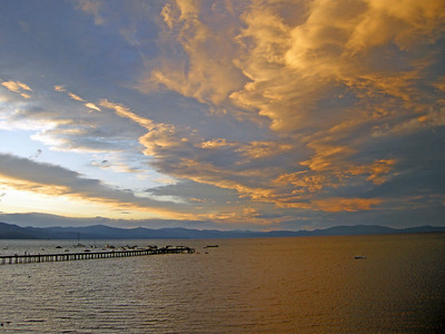 Sunset in South Lake Tahoe