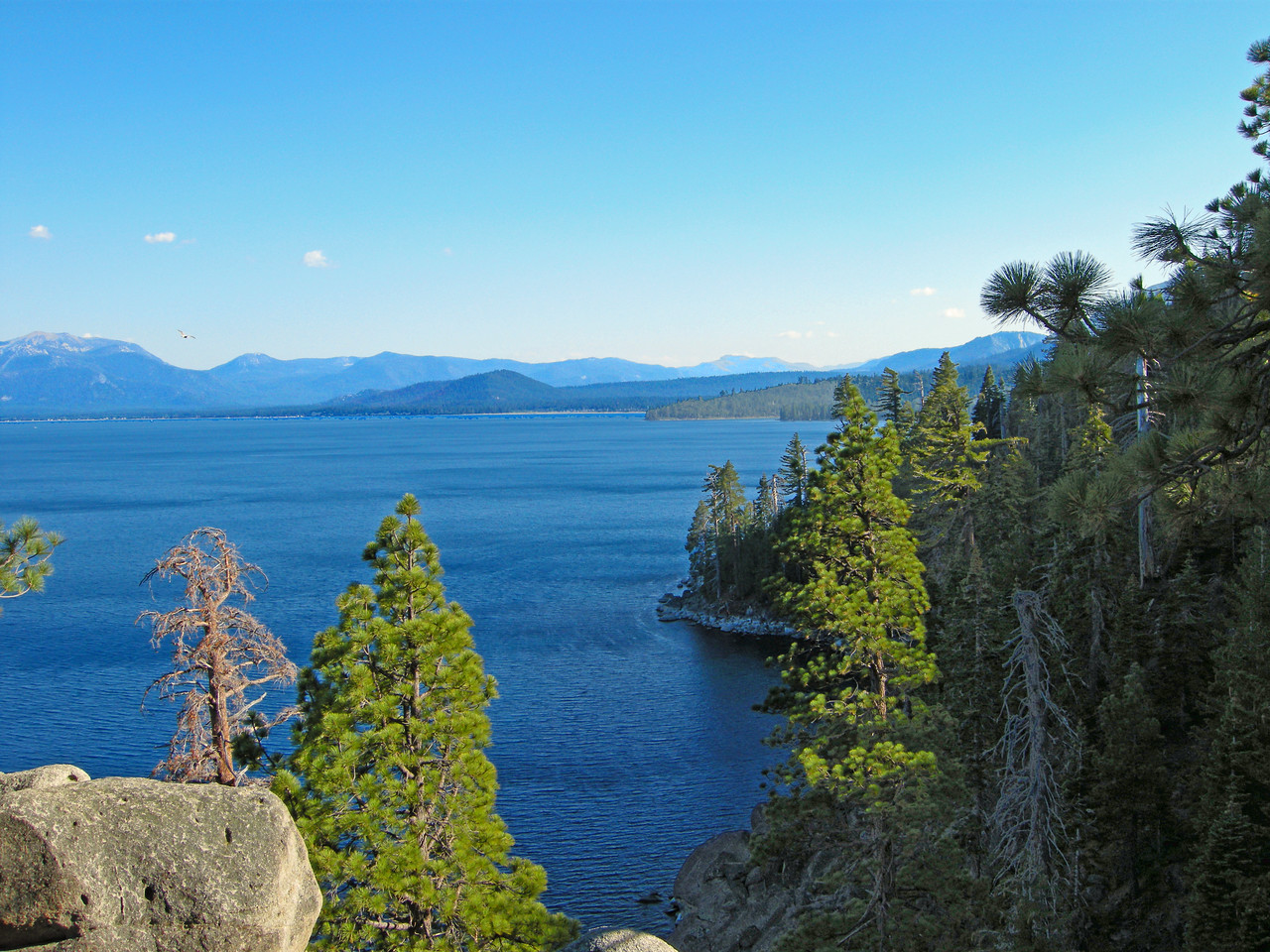 View from the Rubicon Trail