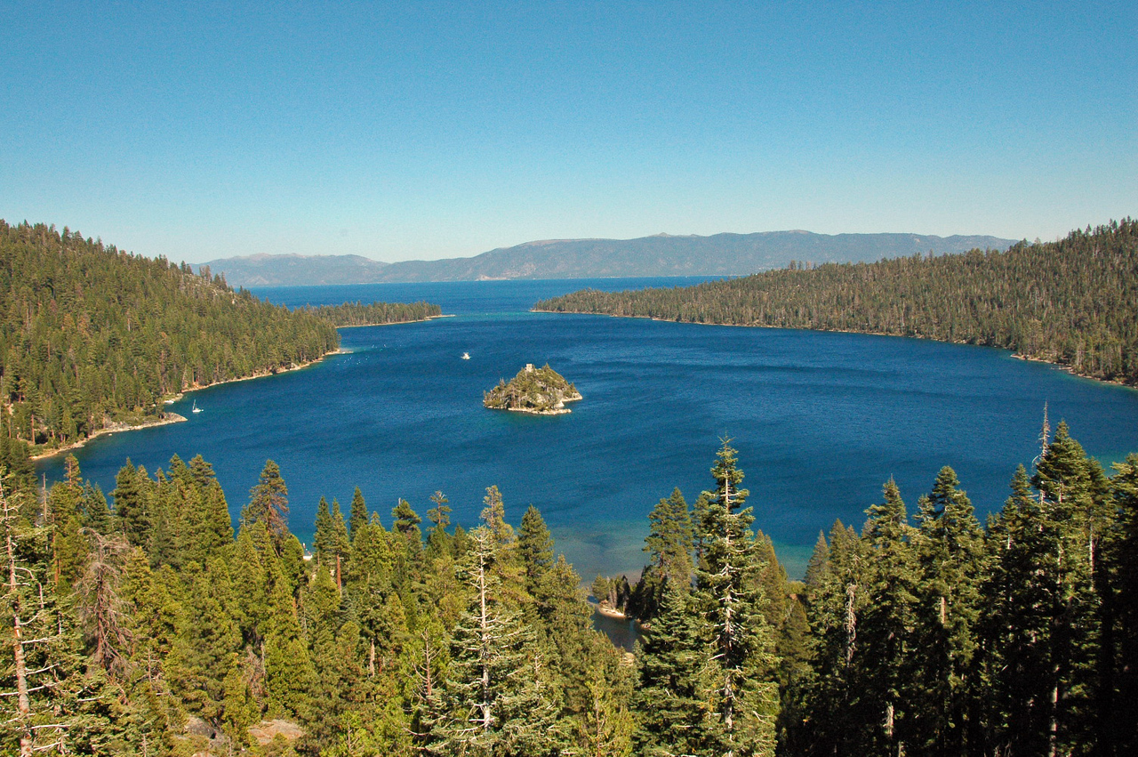 Emerald Bay with Fannette Island.