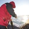 "Pro Bass guide Steve Boyd of  <a href=""http://www.floridabassadventures.com"">http://www.floridabassadventures.com</a> unhooks a largemouth freshwater bass."