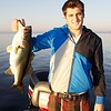 Max Gokhale, with a 4 lb 8 oz freshwater largemouth bass. © 2010 Brian Gay