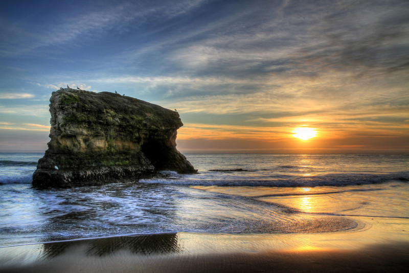 Natural Bridges State Beach. Santa Cruz, CA.
