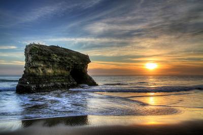 Natural Bridges State Beach. Santa Cruz, CA.