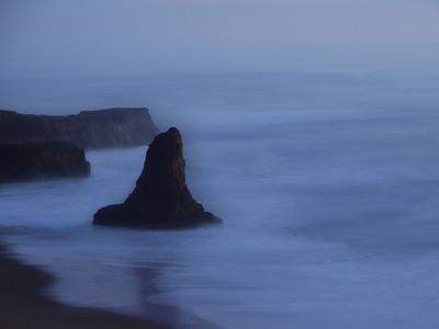 Davenport Beach. Davenport, CA.