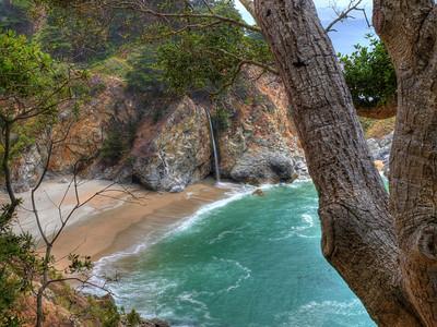 McWay Falls. Big Sur Coast.