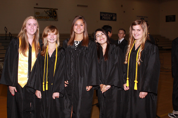 Lakeview Graduation 2012
