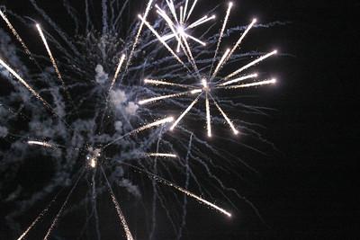 Feuerwerk Lampionfahrt Seefest 2012