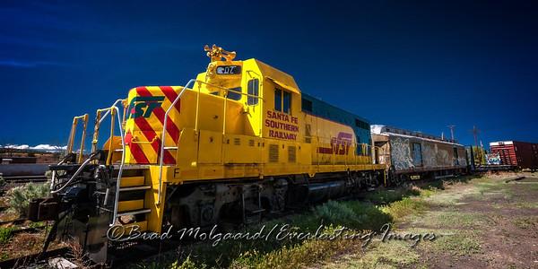 Santa Fe Southern Railway-Lamy, New Mexico