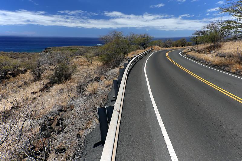 Road to Manele Bay -  Lana'i, Hawaii