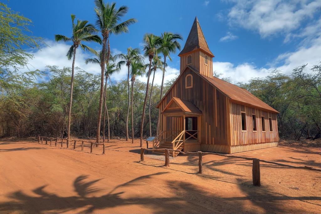 Keomoku Church - Lana'i, Hawaii