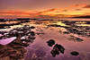Sunset at Hulopo'e Bay Tide Pools - Lana'i, Hawaii