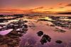 Sunset at Hulopo'e Bay Tide Pools - Lana'i, Hawaii