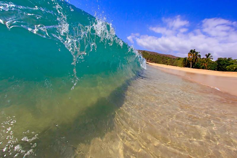 Rising Wave - Hulopo'e Beach - Lana'i, Hawaii
