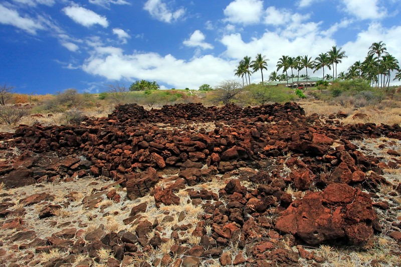 Heiau - Kapihaa Village -  Lana'i, Hawaii