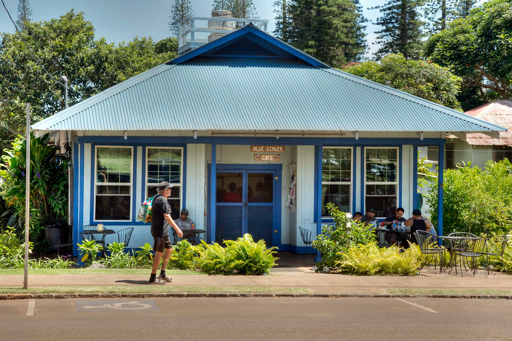 Blue Ginger Cafe - Lana'i, Hawaii
