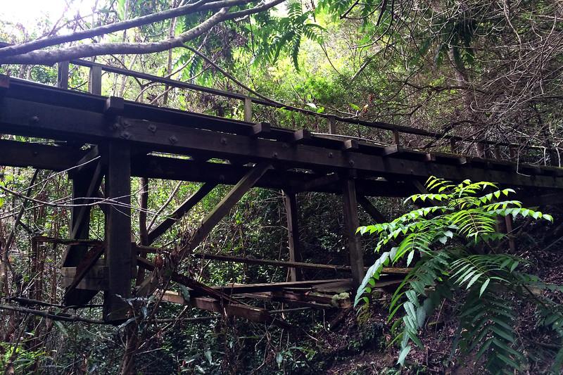 Old Water Line Bridge - Island of Lana'i - Hawaii