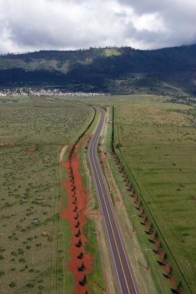 Road to Lana'i City - Lana'i, Hawaii