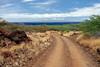 Road to Polihua Beach - Lana'i, Hawaii