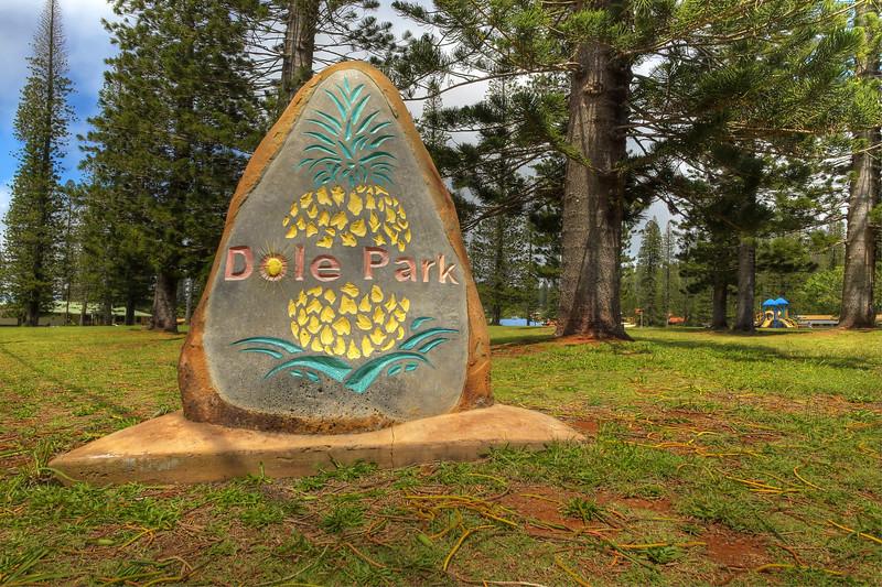 Dole Park - Lana'i, Hawaii
