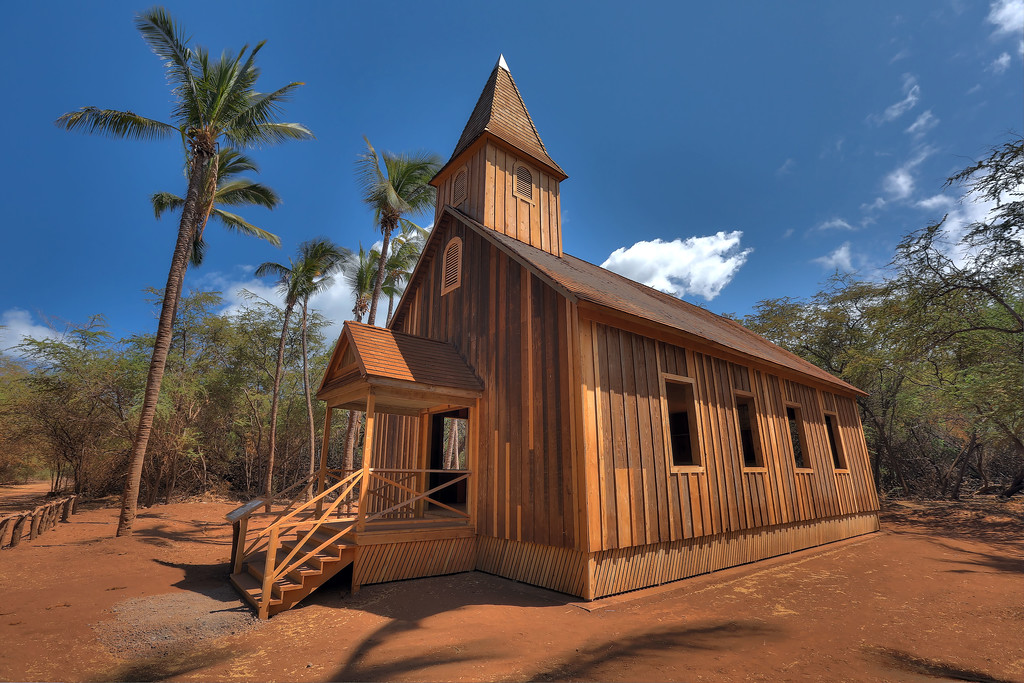 Keomoku Church Building - Lana'i, Hawaii