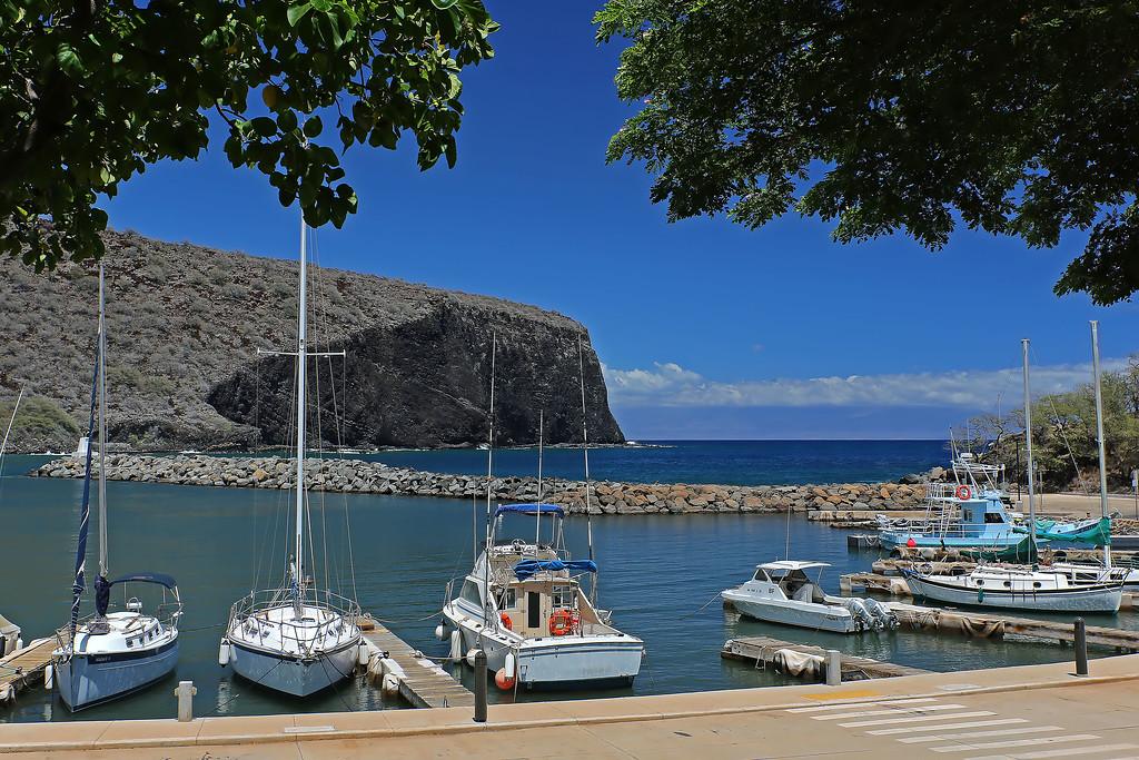 Manele Small Boat Harbor - Lana'i, Hawaii