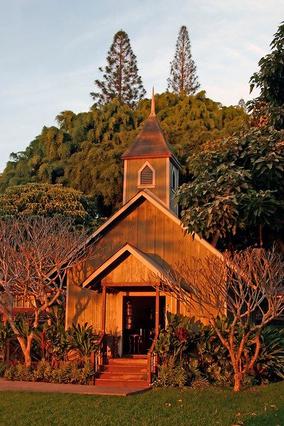 Old Hawaiian Chruch - Lodge at Koele - Lana'i, Hawaii