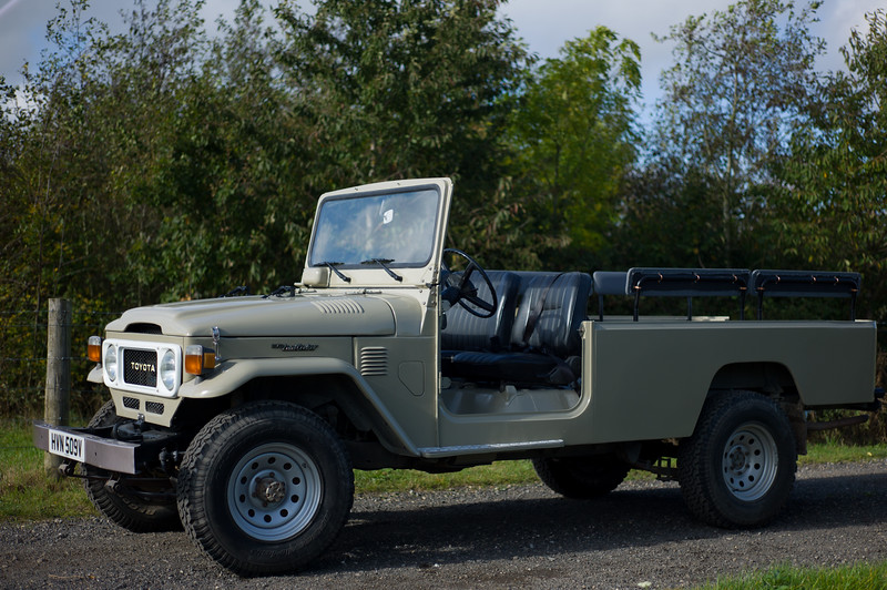 Toyota Land Cruiser BJ45 (bigger than BJ40)