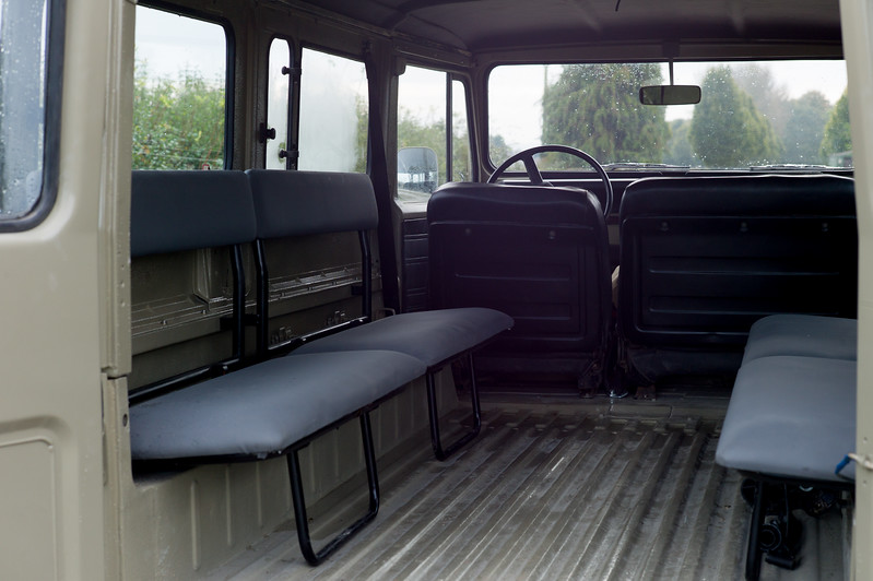 Inside Toyota Land Cruiser Classic BJ45 (Longer Wheelbase than BJ40)