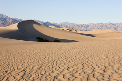 Sand dunes near Stovepipe Wells, Death Valley, California