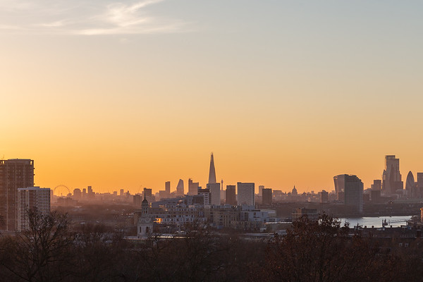 Greenwich Sunset