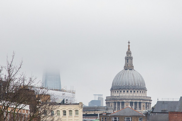 St Pauls in the fog