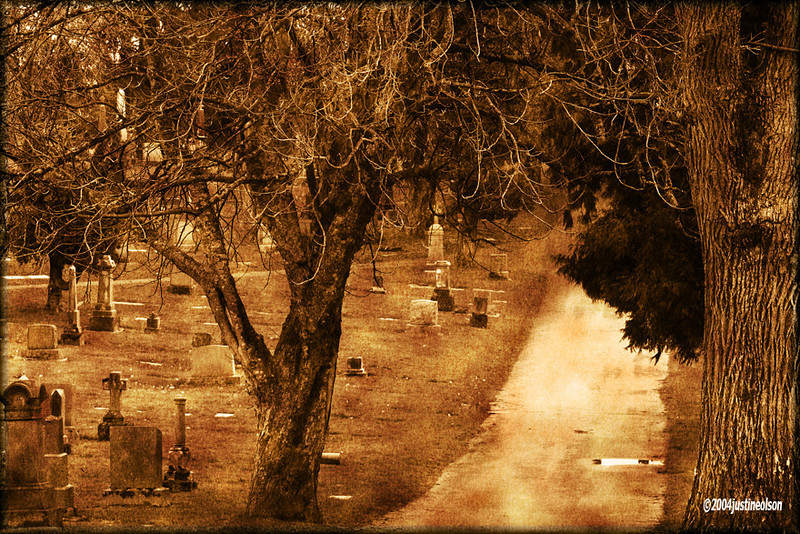 GraveYard near Portland. Playing with filters.