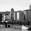 Willamette River, Downtown Portland, Or. Stern Wheeler