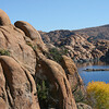 Rocks, Watson, Lake