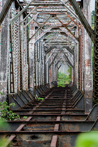 Railroad Bridge, Panama 2014