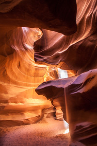 Antelope Canyon , Arizona Desert